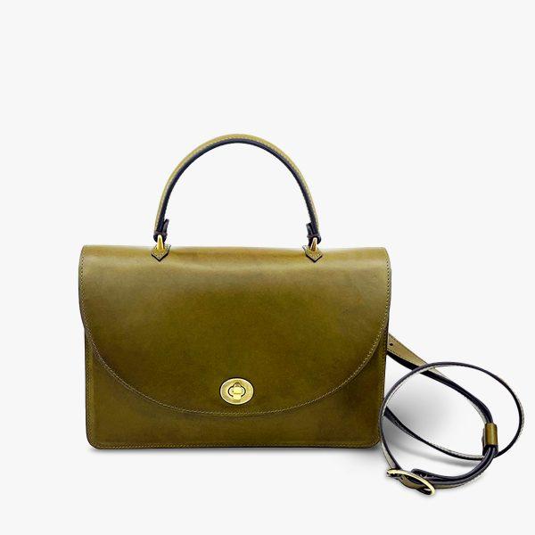 MISS SOPHIE BAG, OLIV/GRAU